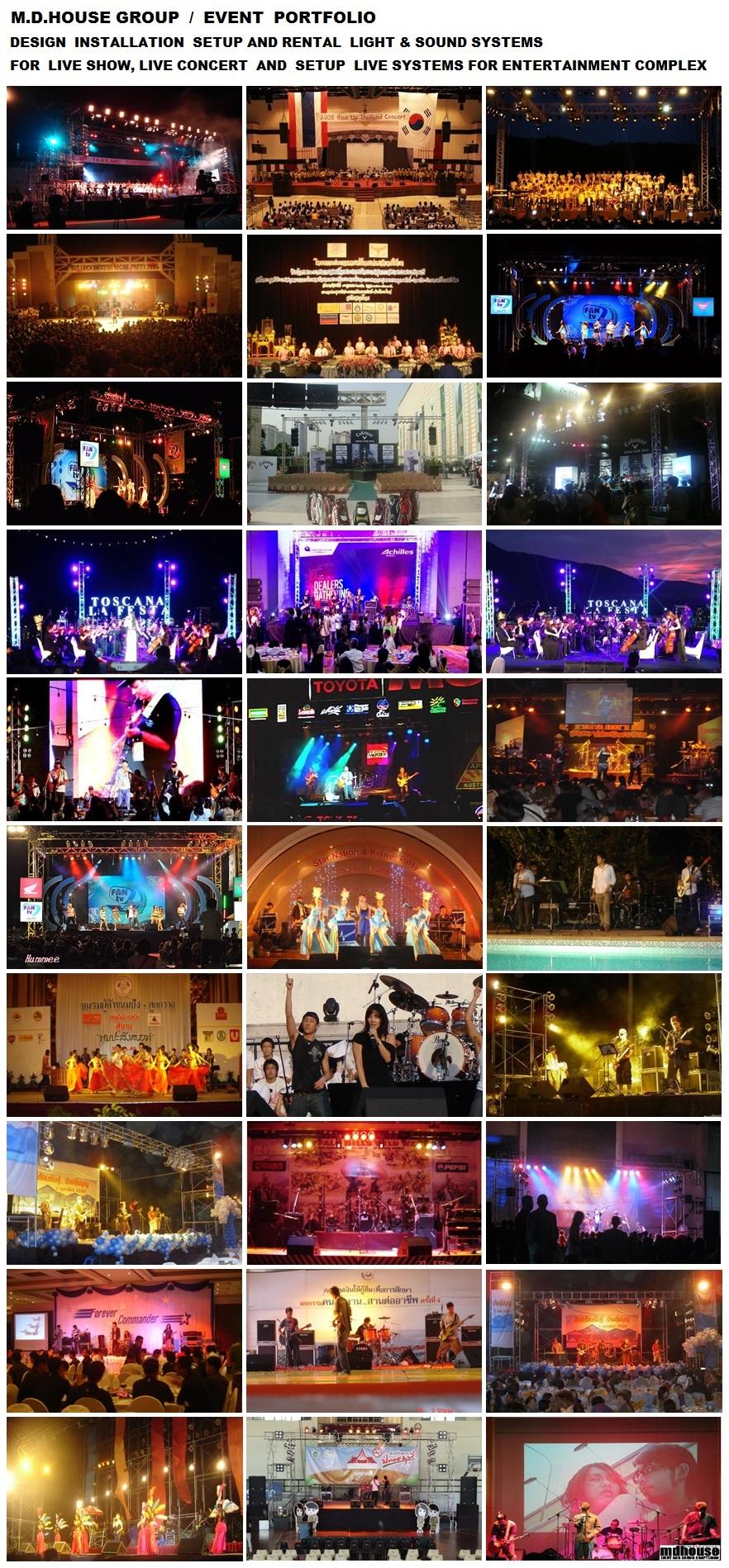 PORTFOLIO 2015 - Live Sound